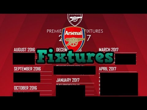 COMPLETE ARSENAL SEPTEMBER FIXTURE