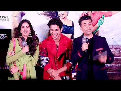 Dhadak Trailer Launch Complete Video HD-Sridevi's Daughter Jhanvi Kapoor,Ishaan Khattar