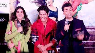 Video Dhadak Trailer Launch Complete Video HD-Sridevi's Daughter Jhanvi Kapoor,Ishaan Khattar MP3, 3GP, MP4, WEBM, AVI, FLV Oktober 2018