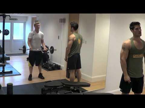 Shoulder Workout With Jamie Alderton Natural Bodybuilding Champion/Fitness Model