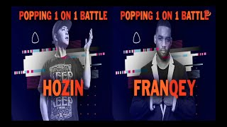 Hozin vs Franqey – BBIC KOREA WORLD FINALS 2019 Popping Semi Final
