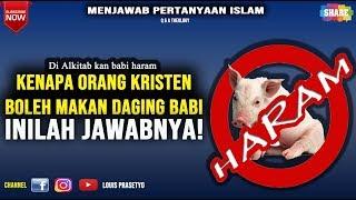 Video Babi Haram, Kenapa orang Kristen makan, ini Jawabnya!! MP3, 3GP, MP4, WEBM, AVI, FLV Desember 2018