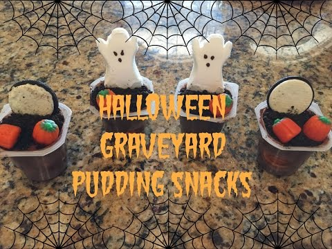 Halloween Graveyard Pudding Tutorial