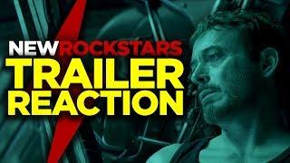 Avengers ENDGAME Trailer Reaction #newrockstarsnews