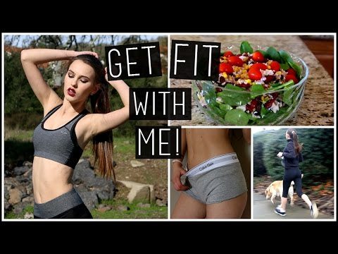Get Fit With Me Winter Edition! Fitness Routine, DIY Healthy Foods & More!