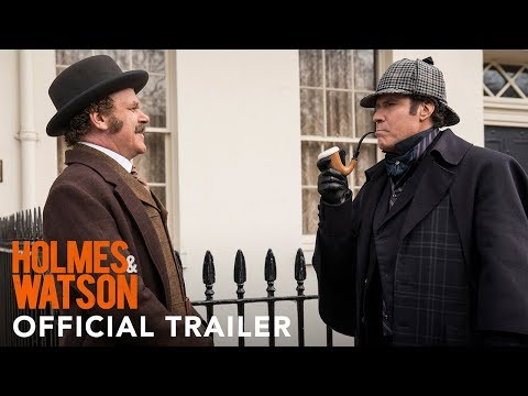 The First Trailer for Holmes  Watson
