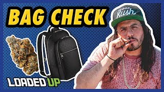 Adam ill Shows Us What's In His Bag | Loaded Up by Loaded Up