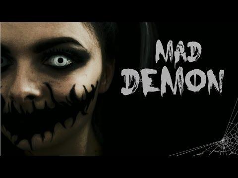 Mad Demon | Last Minute Halloween Costume