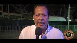 Saludo Javier Fernández 'El Cantante del Gol'