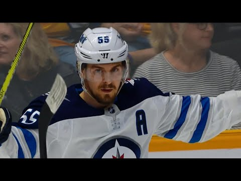 Video: Wheeler sets up Scheifele for a snipe on Rinne