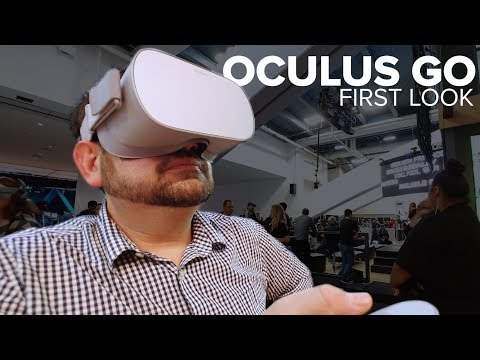 Oculus Go: First hands-on impressions of Facebook's $199 VR headset!