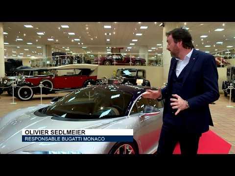 Une Bugatti Chiron à découvrir en Principauté