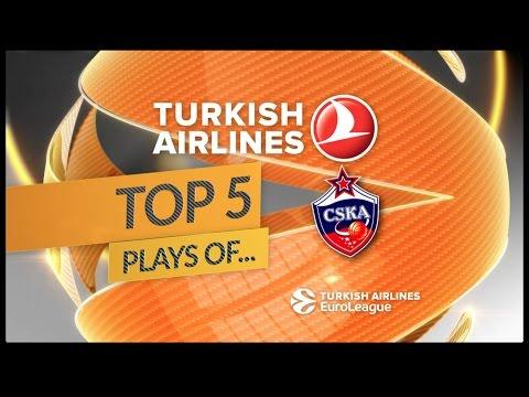 Top 5 Plays, CSKA Moscow