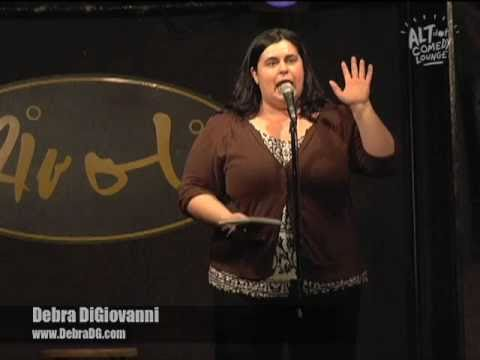 Debra DiGiovanni - The Altdot Comedy Lounge - Feb. 21, 2011