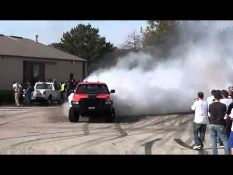 cummins diesel burnout