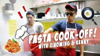 Video Pasta Cook-Off with Xiao Ming & Kenny! MP3, 3GP, MP4, WEBM, AVI, FLV Maret 2019