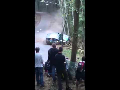 Crash Clio R3T Rallye France 2014