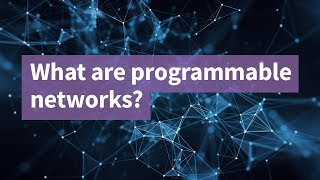 What are Programmable Networks?