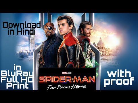Download Spider Man Far From Home Full Movie IN HINDI  in Blu-Ray HD 1080p with proof