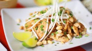 Pad thaï au poulet