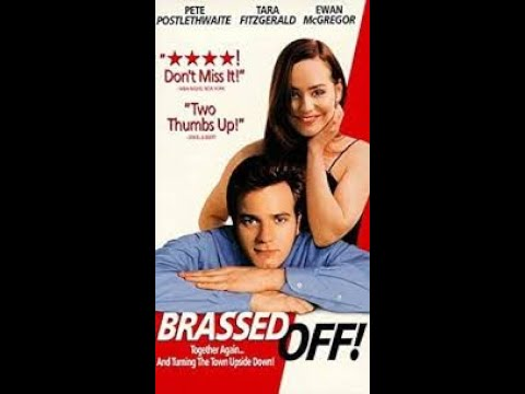 """Opening to """"Brassed Off!"""" 1998 VHS [Miramax]"""