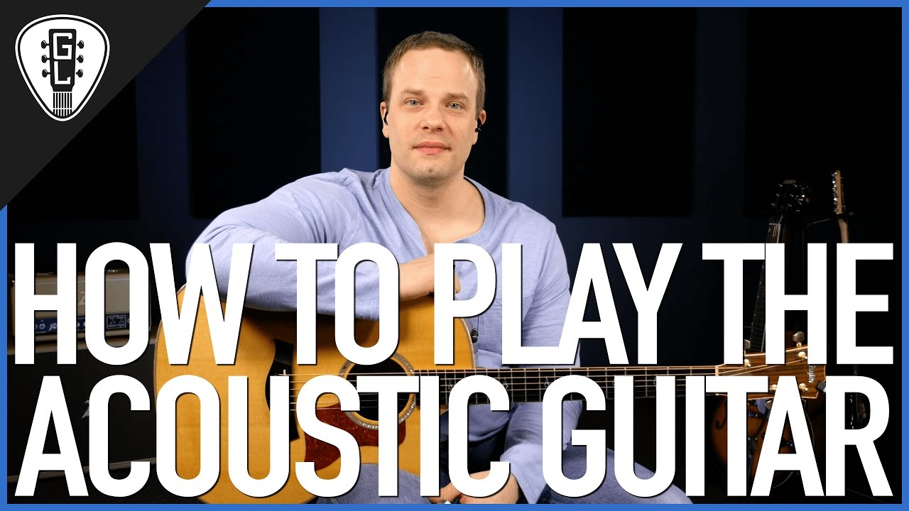 How To Play Acoustic Guitar – First Guitar Lesson