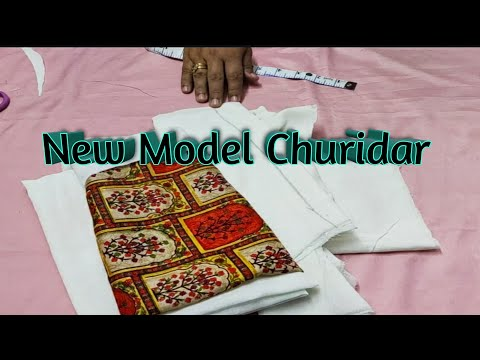New model Churidar cutting and stitching||Easy Method|| Pallavi N Vlogs