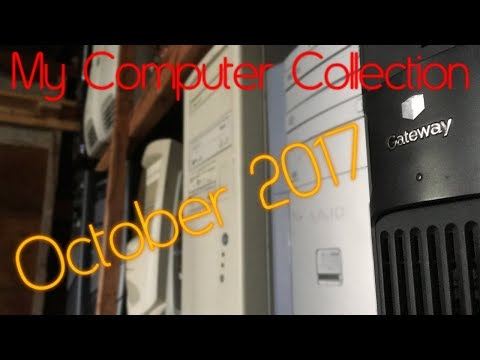 The Computers I Own - October 2017