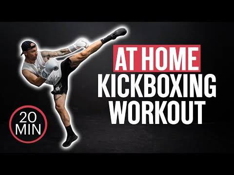 Full Kickboxing Workout At Home