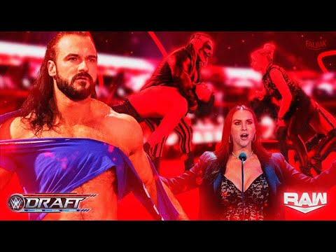 WWE Draft 2020 Dia 2 RAW REVIEW | Falbak