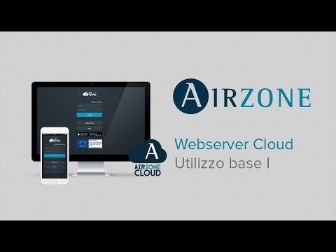 Webserver Airzone Cloud: Utilizzo base I