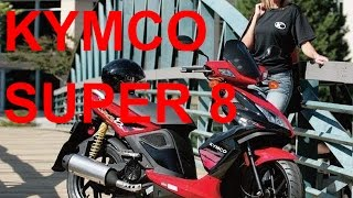 4. Kymco Super 8: Overview 49cc 2 stroke #1
