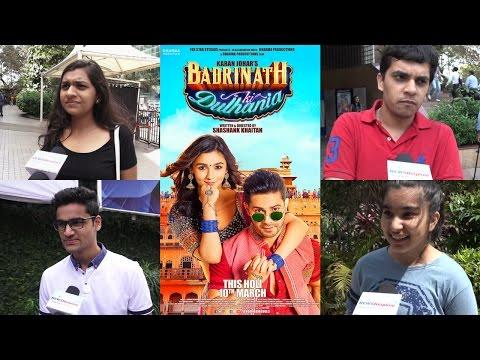 Public Review | Badrinath Ki Dulhania | Varun Dhawan | Alia Bhatt