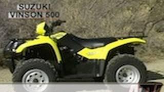 4. ATV Television - 2002 Suzuki Vinson 500 Test