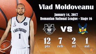 2017.01.14 Vlad Moldoveanu vs. CSU Sibiu