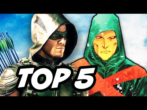 Arrow Season 4 Episode 2 - TOP 5 WTF and Easter Eggs