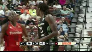 Cash, Charles Lead Liberty to 3rd Straight Win by WNBA