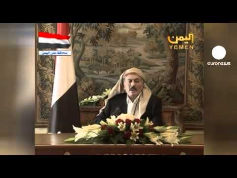 Saleh forth: Yemeni president vows return