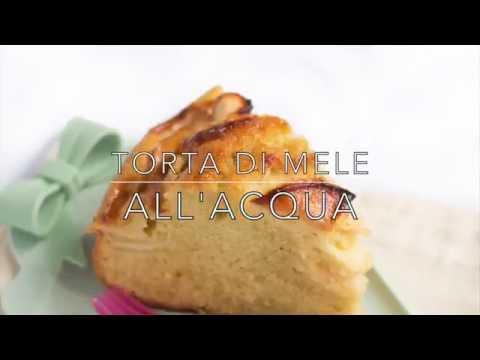 ricetta: torta di mele all'acqua (senza burro ne latte)