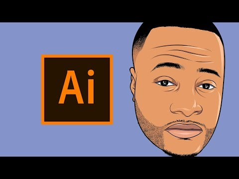 HOW TO MAKE A CARTOON | TUTORIAL! - Step By Step ( ADOBE ILLUSTRATOR )