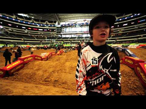 KTM Junior Supercross Challenge - Behind-the-Scenes Look