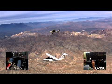 ICON Aircraft - A5 Spin Resistance Safety Milestone Demonstration
