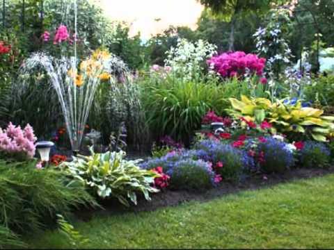 Прекрасный сад, который мы создали сами.