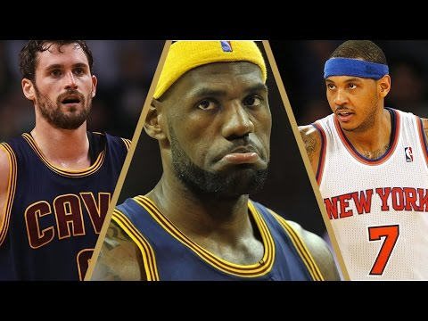 Carmelo Anthony Kevin Love BLOCKBUSTER TRADE Proposal - Was LeBron James Involved?