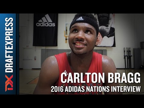 Carlton Bragg Interview from 2016 Adidas Nations