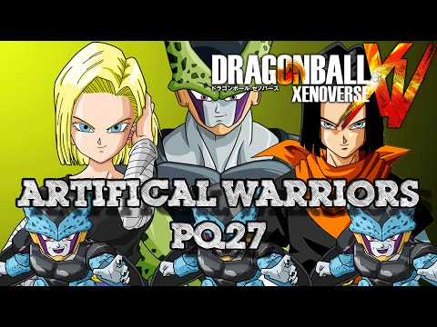 ARTIFICIAL WARRIORS // Parallel Quest 27 (How to Z-Rank) - Dragon Ball Xenoverse ►The Arnolds Play