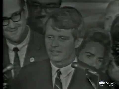 1968: Robert F. Kennedy Assassinated