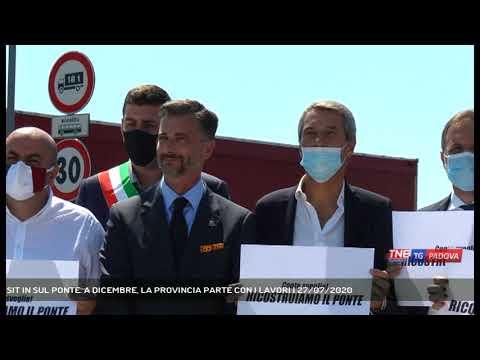 SIT IN SUL PONTE. A DICEMBRE, LA PROVINCIA PARTE CON I LAVORI | 27/07/2020