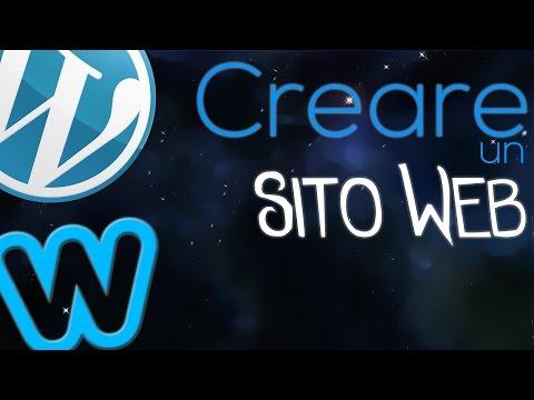 come creare un sito web gratis!
