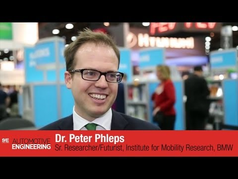 BMW Futurist Peter Phleps interview SAE 2014 World Congress